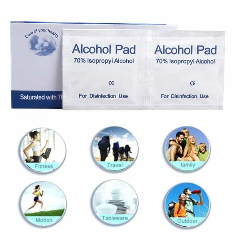 מטליות אלכוהול 70% לחיטוי 2021